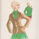 Kwik Sew Sewing Pattern 501 Misses Size 14-16-18 Ladies Fitted Princess Seam Blazer Jacket USED