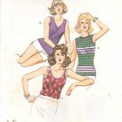 Kwik Sew Sewing Pattern 1060 Misses Size 14-16-18-20 Pullover Sleeveless Knit Tops