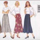 Butterick Sewing Pattern 4308 Misses Size 6-10 Easy Flared A-Line Button Front Skirts