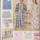Butterick Sewing Pattern 5027 Mens Misses Chest Size 30-48  Gifts Robe Boxers Bath Wrap Slippers