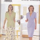Butterick Sewing Pattern 5998 Misses Size 20-24 Suit Shawl Collar Top A-Line Straight Skirts