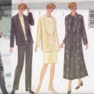 Butterick Sewing Pattern 6208 Misses Size 20-24 Easy Classic Wardrobe Jacket Duster Pants Dress