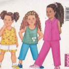 Butterick Sewing Pattern 6485 Girls Size 4-5-6 Easy Summer Wardrobe Top Pants Shorts