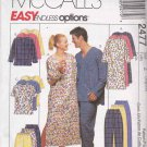 McCall's Sewing Pattern 2477 Men's Misses Unisex Size 42-48 Pajamas Pyjamas Nightshirt Nightgown