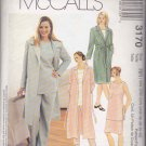 McCall's Sewing Pattern 3170 Womens Plus Size 18W-24W Wardrobe Coat Skirt Pants Top