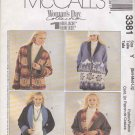 McCall's Sewing Pattern 3381 Misses Size 8-18 Woman's Day Collection Reversible Fleece Jacket