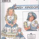 Simplicity Sewing Pattern 7997 0645 Girls Size 3-6 Daisy Kingdom Dress Hat Apron Purse Doll Clothes