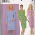 Simplicity Sewing Pattern 9562 Misses Size 16-24 Straight Sleeveless Dress Long Sleeve Cardigan