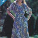 Butterick Sewing Pattern 3214 Misses Size 6-14 Loose-Fitting Raglan Sleeve Dress