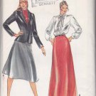 Butterick Sewing Pattern 3327 Misses Size 10 Evan-Picone Suit Jacket Blouse Bias Long Short Skirt