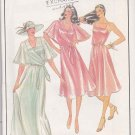 Butterick Sewing Pattern 3701 Misses Size 8 Parsons School of Designs Formal Dress Capelet