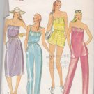 Butterick Sewing Pattern 3742 Misses Size 8-10 Easy Knit  Dress Tunic Pants Romper Jumpsuit