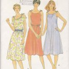 Butterick Sewing Pattern 3781 Misses Size 6-10 Summer Sundress Loost-fitting Pullover Dress