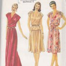Butterick Sewing Pattern 3789 Misses Size 8 Long Formal Dress Top Skirt Two-Piece Dress