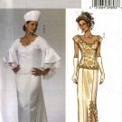 Butterick Sewing Pattern 4605 Misses Size 16-22 Two-Piece Wedding Bridal Gown Dress Skirt Top