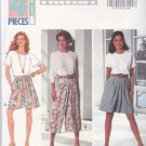 Butterick Sewing Pattern 6073 Misses Size 6-10 Easy Family Circle Split Skirt Culottes Gauchos