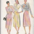 Butterick Sewing Pattern 6983 Misses Size 10-14 Suit Straight Skirt Cardigan Jacket Blouse