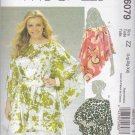 McCalls Sewing Pattern 6079 Misses Size 16-26 Easy Loose-Fitting Pullover Tops Tunics Sash