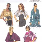 Butterick Sewing Pattern 5714 Misses Size 16-26 Easy Jackets Boleros Long Short Sleeves Tie Front