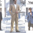 Vogue Sewing Pattern 1753 Mens Size 32-34-26 Jacket Vest Shorts Pants Trousers Sportscoat Suit