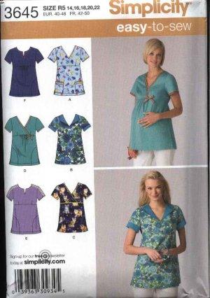 Patterns and Notions >> Maternity Scrub Pattern?