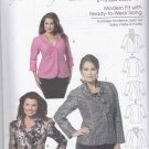 Butterick Sewing Pattern 5720 Womens Plus Size 18W-44W Easy Lined Jackets Neckline Sleeve Options