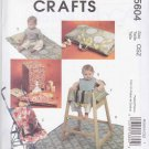 McCall's Sewing Pattern 5604 Baby Infant Items Umbrella Stroller Liner Restaurant High Chair Cover