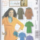 McCall's Sewing Pattern 5714 M5714 Misses Size 4-12 Unlined Knit Coats Jackets Sleeve Collar Options