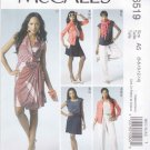 McCall's Sewing Pattern 6519 Misses Size 6-14 Wardrobe Jacket Top Dress Skirt Pants