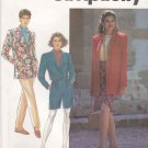 Simplicity Sewing Pattern 7488 Misses Size 12-16 Wardrobe Jacket Pants Shorts Sarong Skirt