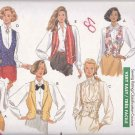Butterick Sewing Pattern 4314 Misses Size 6-10 Easy Classic Lined Vest Neckline Hem Options