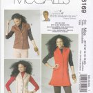 McCall's Sewing Pattern 6169 Misses Size 8-20 Nancy Zieman Unlined Button Front Vest