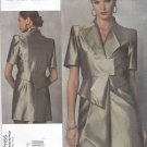 Vogue Sewing Pattern 1155 Misses Size 14-20 Guy Laroche Short Sleeve Lined Dress