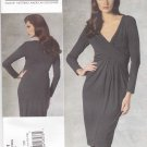 Vogue Sewing Pattern 1191 Misses Size 12-18 Michael Kors Long Sleeve Straight Knit Dress