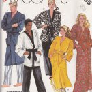 McCall's Sewing Pattern 2735 Mens Misses Unisex Size 32-24 Robe Jacket Pants Martial Arts