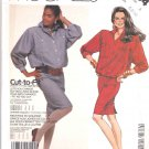 McCall's Sewing Pattern 2784 Misses Size 6-8-10 Button Front Bodice Straight Skirt Dress