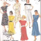 McCall's Sewing Pattern 2977 Misses Size 10-12 Easy Classic Pullover Sleeveless Flared Skirt Dress