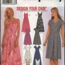 Simplicity Sewing Pattern 9559 Misses Size 14-20 Summer Sleeveless Short Sleeve Dresses