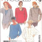 McCall's Sewing Pattern 3229 Misses Size 10-12 Easy Pullover Long Sleeve Knit Top