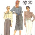 Simplicity Sewing Pattern 9370 Misses Size 6-10 Classic High Waisted Straight Skirt