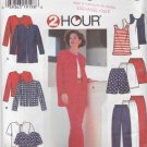 Simplicity Sewing Pattern 7249 Misses Size 6-16 Wardrobe 2 Hour Jacket Shorts Pants Knit Top