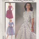 Simplicity Sewing Pattern 7379 Misses Size 6-10 Easy Full Gathered Skirt Dress Sleeve Options