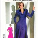 Simplicity Sewing Pattern 7747 Misses Size 6-10 Long Sleeve Princess Seam Front Button Dress