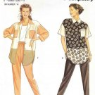 Simplicity Sewing Pattern 7769 Misses Size 6-24 Long Tapered Pants Button Front Shirt