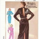 Simplicity Sewing Pattern 7848 Misses Size 6-10 Easy Formal Dress Jumpsuit Back Slit