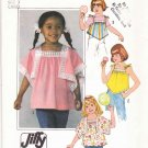 Simplicity Sewing Pattern 8091 Girls Size 3 Jiffy Lightweight Summer Pullover Tops