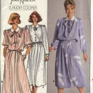 Butterick Sewing Pattern 3753 Misses Size 8-12 Long Short Sleeve Gathered Skirt Dress