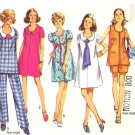 Retro Simplicity Sewing Pattern 8855 Misses Maternity Size 18 Wardrobe Dress Top Shorts Pants