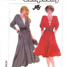 Simplicity Sewing Pattern 8172 Misses Size 6-12 Long Sleeve Gathered Skirt Dress