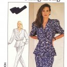 Simplicity Sewing Pattern 8431 Misses Size 10 Button Front Top Sleeve Options Skirt Pants